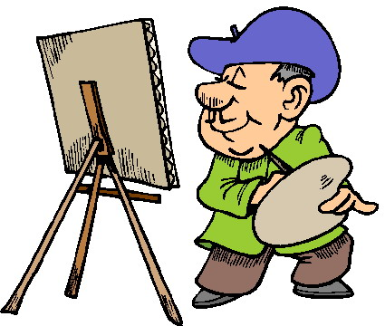 Art and painting clipart image transparent library Free Artist Cliparts, Download Free Clip Art, Free Clip Art on ... image transparent library