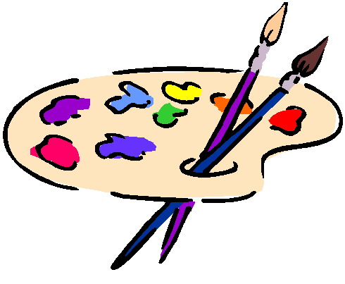 Art and painting clipart svg freeuse stock clip-art-painting-875944 svg freeuse stock
