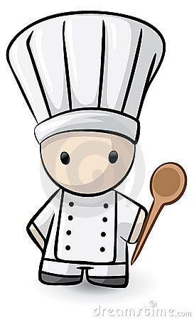 Art chef clipart picture library stock Cartoon chef with spoon | tattoos in 2019 | Cartoon chef, Chef ... picture library stock