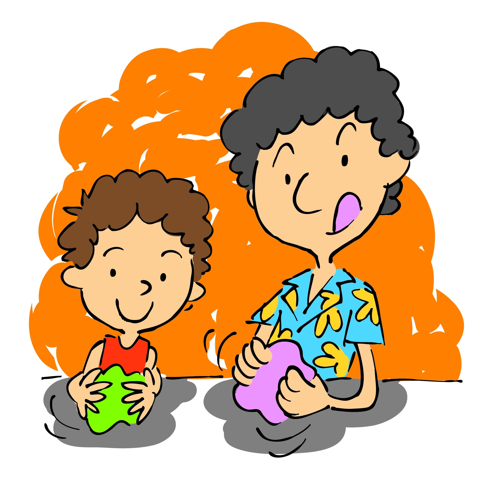 Art children clay clipart png freeuse stock Parent and Child (18-36) Clay Class July 22nd 9:30-10:00 png freeuse stock