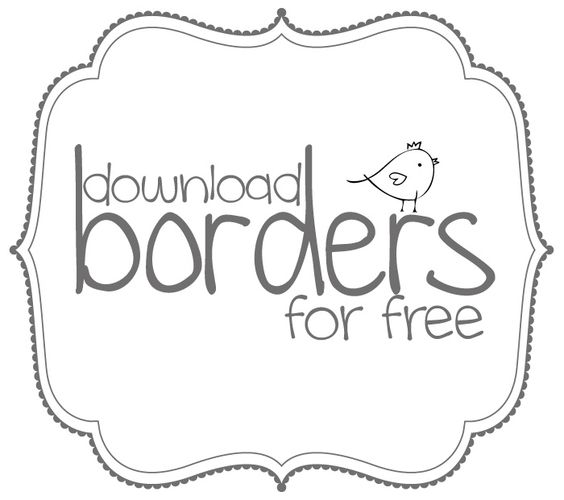 Borders and bracket frames. Art clip free download