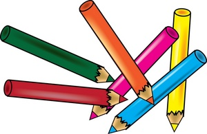 Free colored pencil clipart. Drawing cliparts download clip