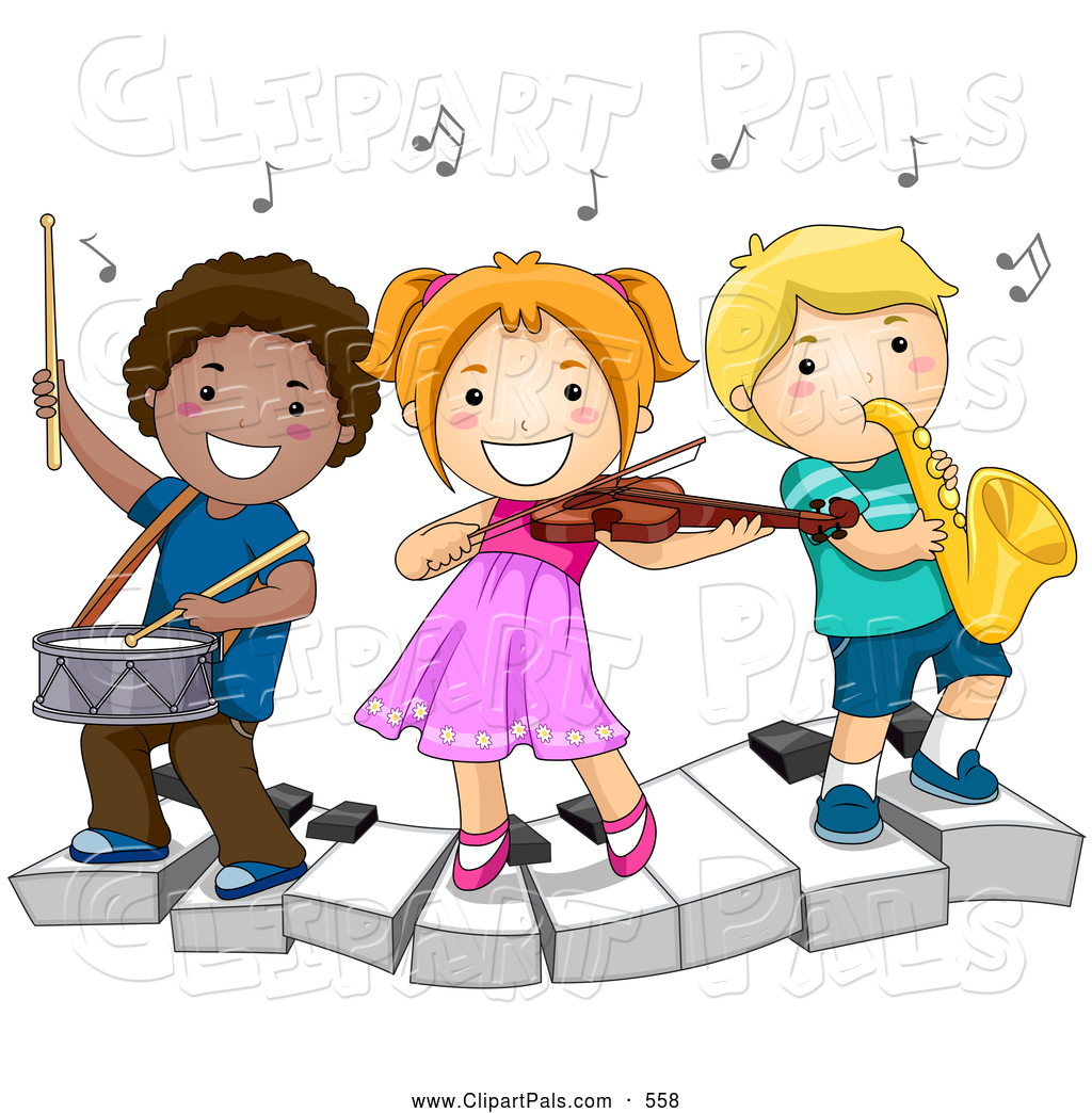 Kids at recess clipart