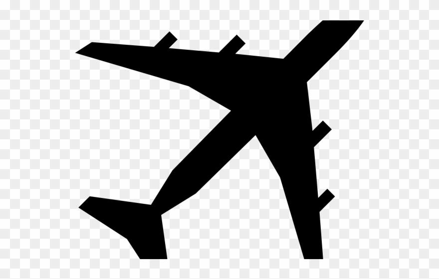 Art clipart logo banner black and white stock Plane Clipart Logo - Plane Silhouette Clip Art - Png Download ... banner black and white stock