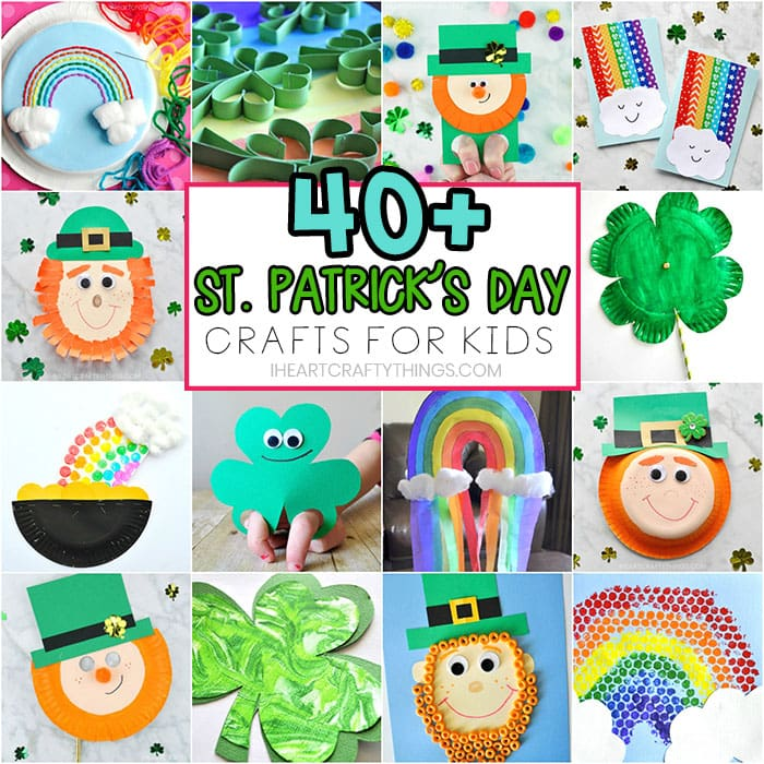 Art craft day clipart picture library stock St. Patrick\'s Day Crafts for Kids -40+ Art and Craft Project Ideas ... picture library stock