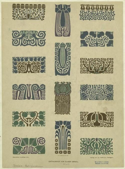 Art deco engraving patterns. This could potentially be