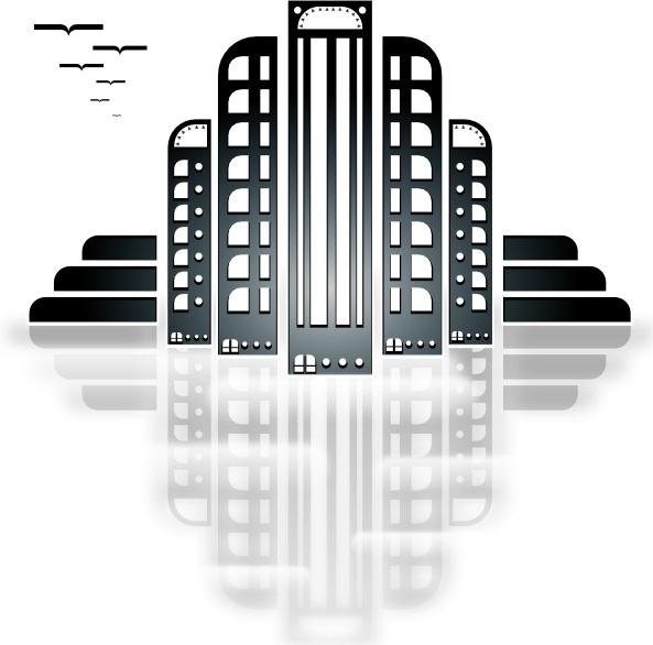 Art deco open clipart jpg transparent Tiothy City Art Deco clip art Free vector in Open office drawing svg ... jpg transparent