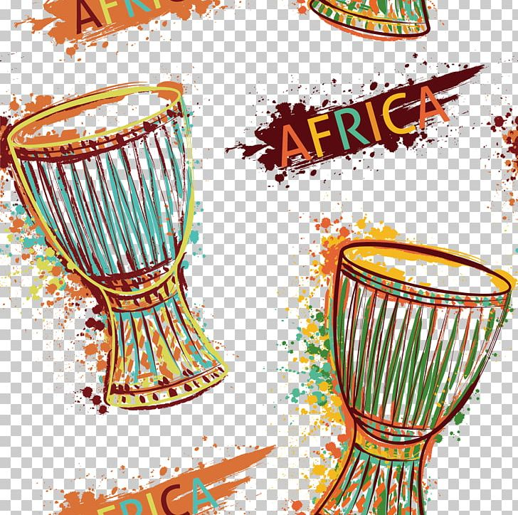 Art deco orchestra clipart transparent Drum Djembe Music Of Africa Musical Instrument PNG, Clipart, Art ... transparent