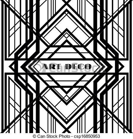 Art deco patterns clipart svg transparent library Art deco patterns clipart - ClipartFest svg transparent library