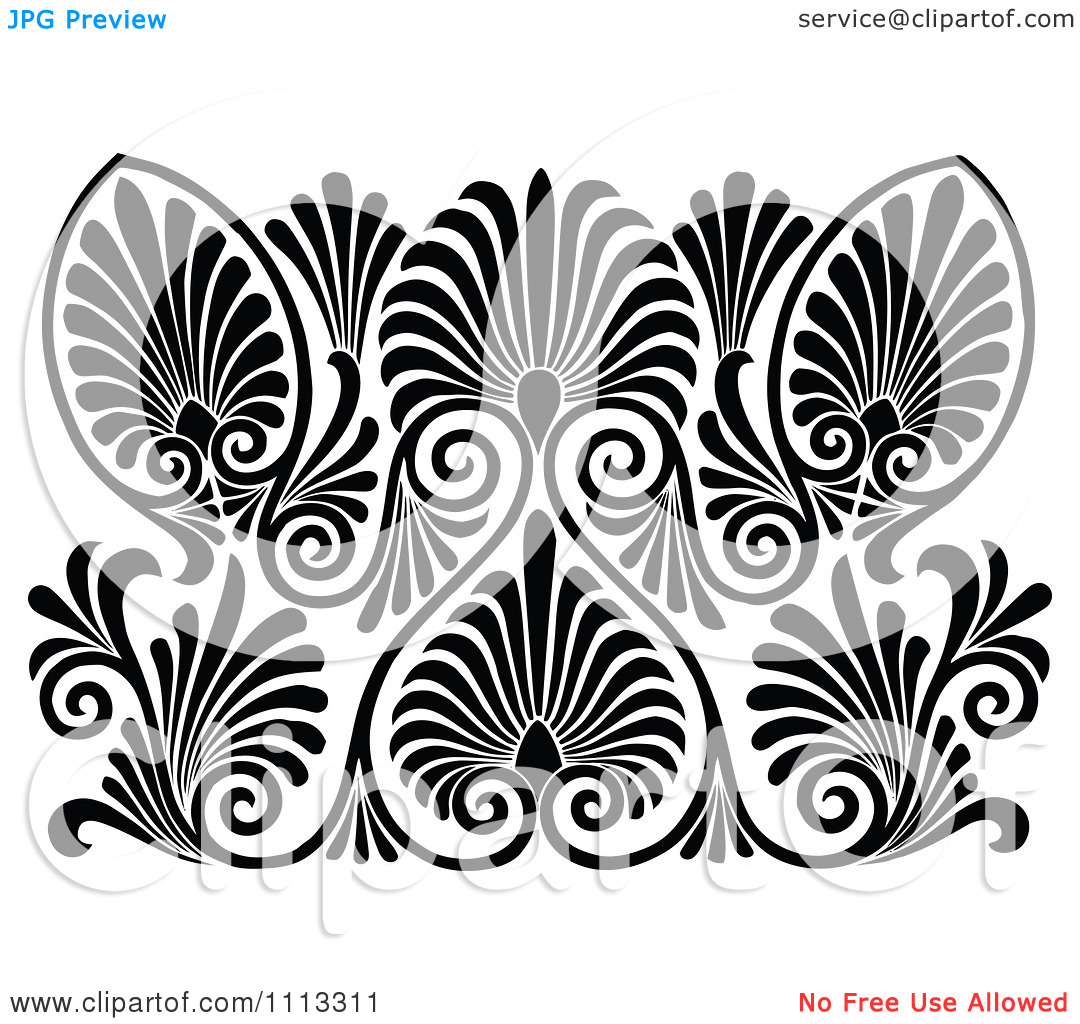 Art deco patterns clipart clipart download Art deco champagne clipart - ClipartFest clipart download