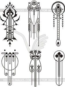 Art deco patterns clipart jpg freeuse Art deco patterns clipart - ClipartFest jpg freeuse