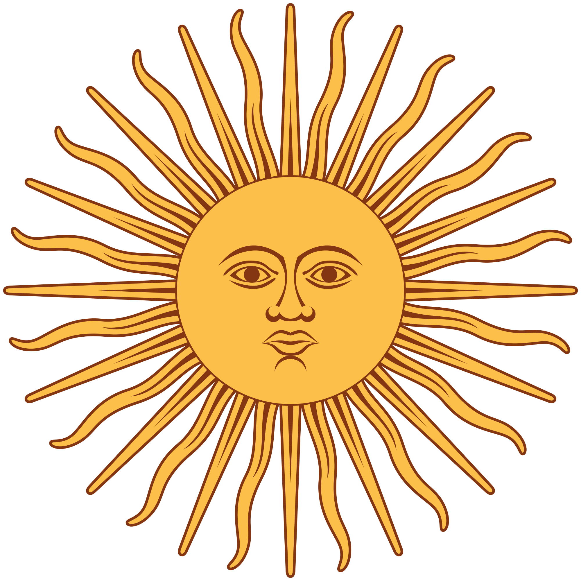 Mean sun clipart vector download Inti- Incan myth: the god of the sun and agriculture. he was ... vector download