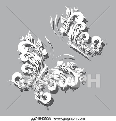 Art deco swirls clipart clip art Clip Art - Art deco swirls. Stock Illustration gg74843938 - GoGraph clip art