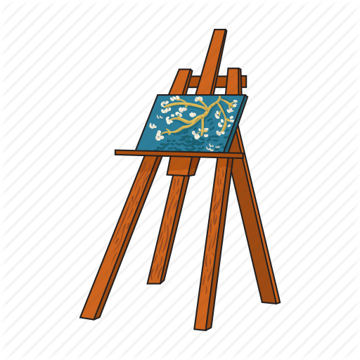 Easel paintings search result at PaintingValley.com clip art stock