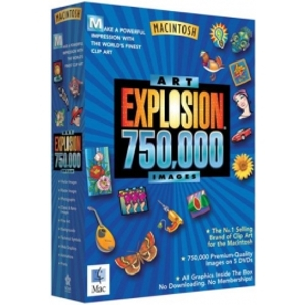 Art explosion clipart for mac jpg royalty free download Nova Art Explosion 750,000 Images Mac - ozgameshop.com jpg royalty free download