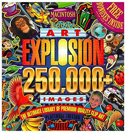 Art explosion clipart for mac image freeuse Art Explosion 250,000 (Mac): Amazon.ca: Software image freeuse