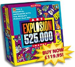 Art explosion clipart for mac banner free library Art Explosion 525,000 MAC - BMSoftware banner free library
