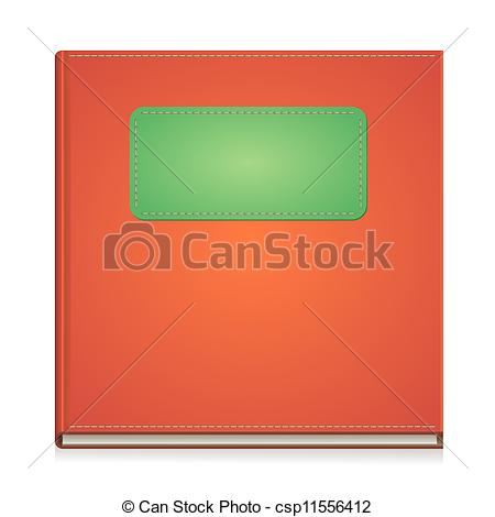 Art front cover clipart. Vector clip of paper
