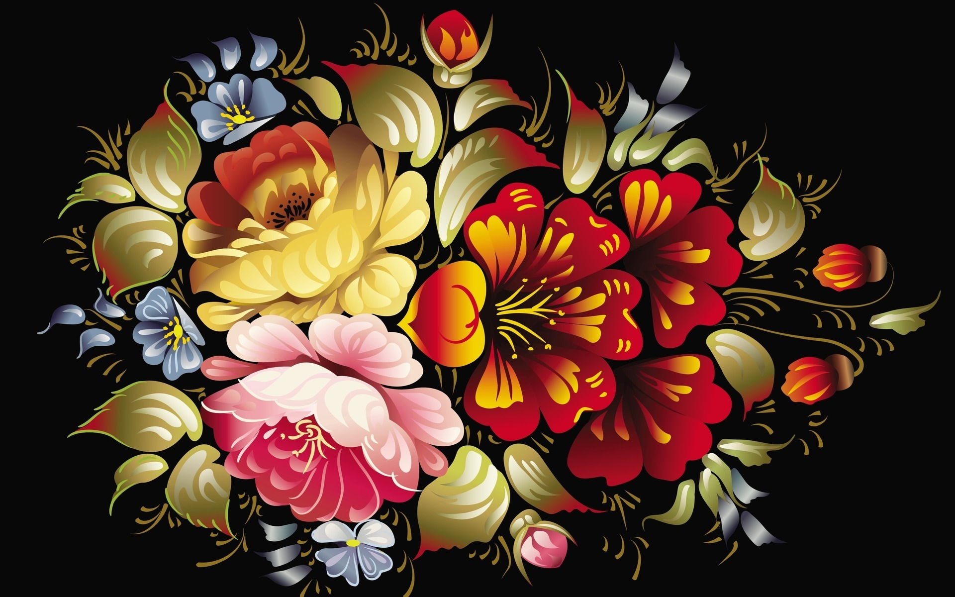 Art images of flowers png freeuse library Art Flowers Wallpapers | Pictures png freeuse library
