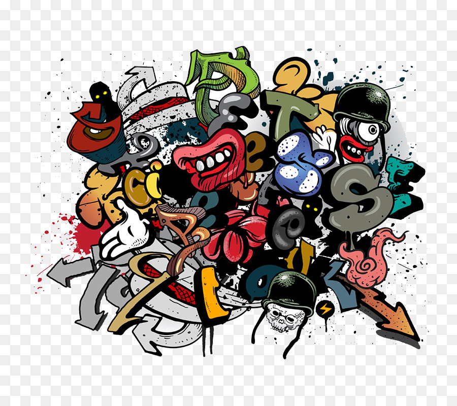Art mural clipart png clip art free stock Cartoon Street png download - 800*800 - Free Transparent Mural png ... clip art free stock