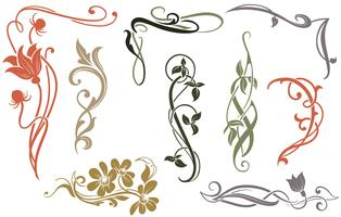 Art nouveau clipart scroll clipart free library Art Nouveau Design Free Vector Art - (47,920 Free Downloads) clipart free library