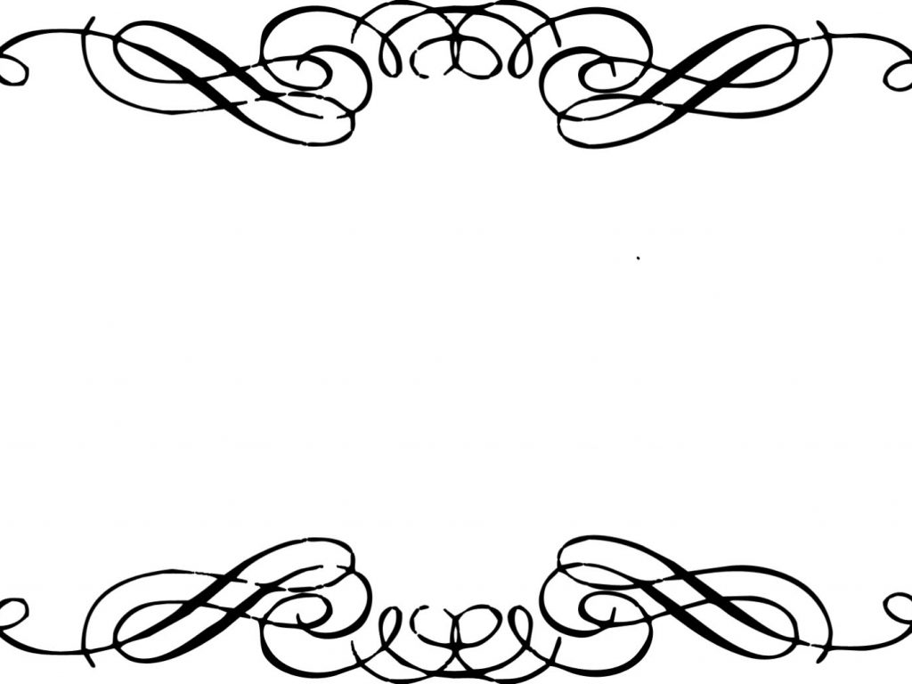 White scroll border clipart royalty free library Fancy Scroll Borders | Free download best Fancy Scroll Borders on ... royalty free library