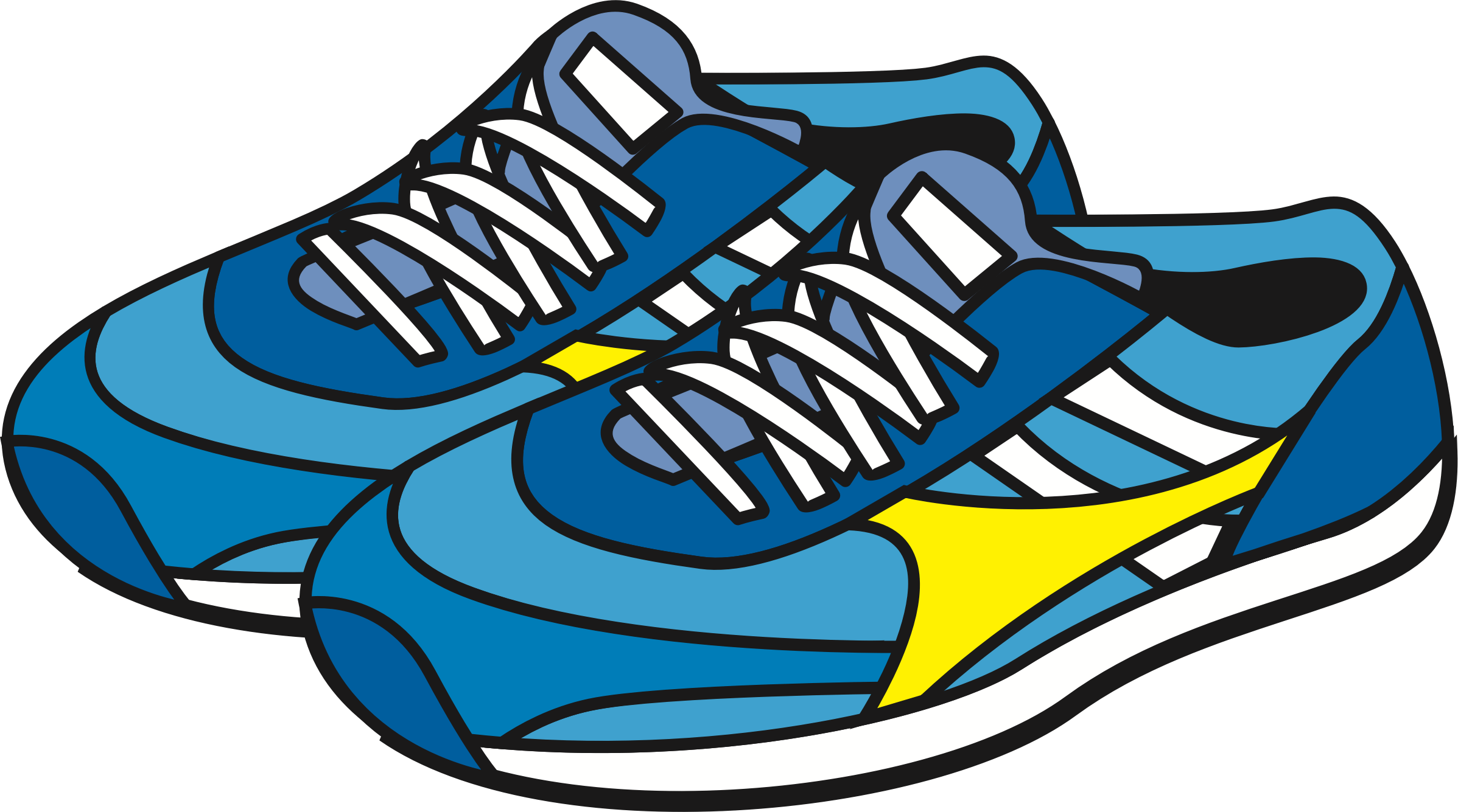 Art palette sneakers clipart picture transparent library Sneakers Clipart Big Shoe Free On Cartoon Image For Baby Boys Shoes ... picture transparent library