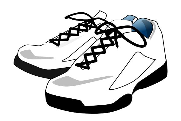 Art palette sneakers clipart png freeuse stock Tennis, Shoes Clip Art at Clker.com - vector clip art online ... png freeuse stock