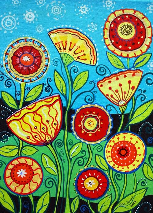 Art picture of flowers jpg free library 17 Best ideas about Folk Art Flowers on Pinterest | Russian folk ... jpg free library