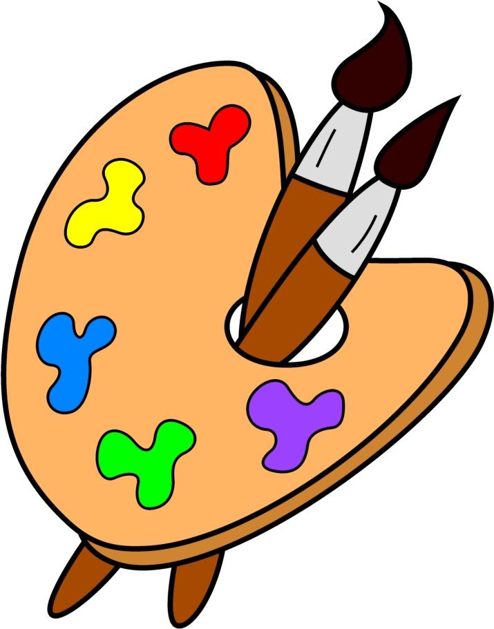 Art pictures clip art vector download Art Supplies Clip Art & Art Supplies Clip Art Clip Art Images ... vector download