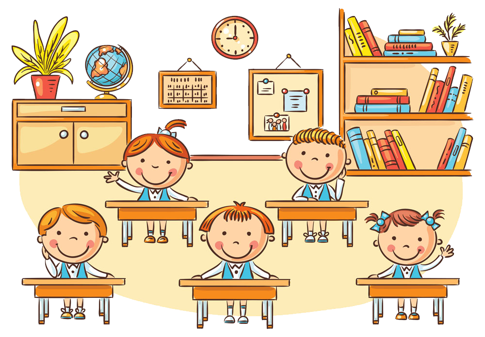 School cartoon clipart graphic library library Student Classroom Cartoon Clip art - School children 1000*696 ... graphic library library
