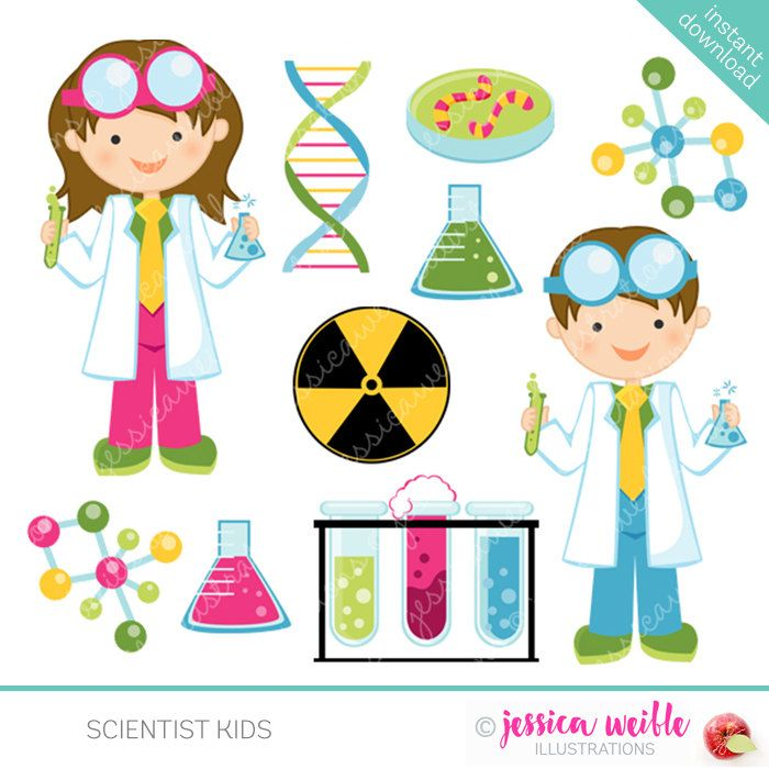 Pics of science measurement cartoon single beaker cartoon clipart vector library Scientist Kids Cute Clipart Science Kids Science Clip art | School ... vector library