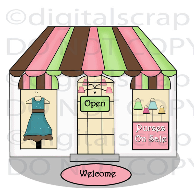 Free clipart on the benefits of a boutique dtore