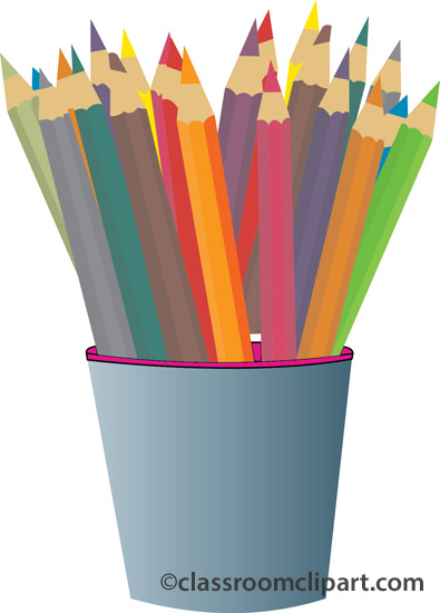 Art supply color clipart image royalty free 7+ Colored Pencils Clipart | ClipartLook image royalty free
