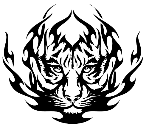 Tattoos clipart svg free stock Tiger Eyes Tattoo | Clipart Panda - Free Clipart Images - Cliparts ... svg free stock