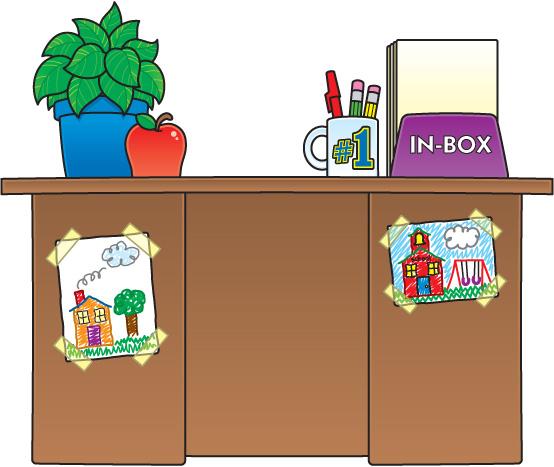 Art teachers desk clipart clipart transparent Free Teacher Table Cliparts, Download Free Clip Art, Free Clip Art ... clipart transparent