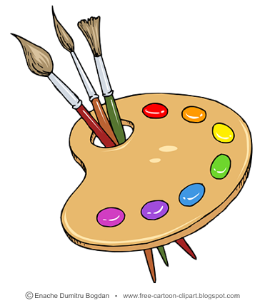 Art tool clipart png freeuse download Painting tools clipart - Clip Art Library png freeuse download