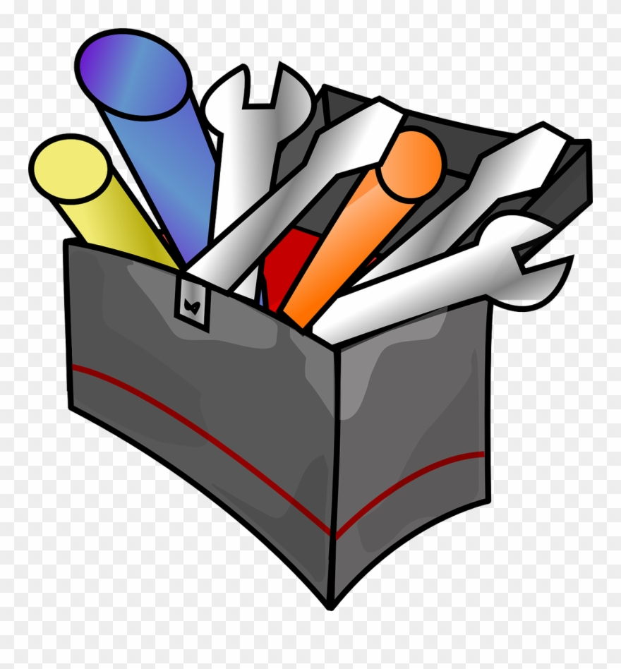 Art tool clipart vector free library Tool Box Clip Art At Clker Co - Tools Clipart Transparent - Png ... vector free library