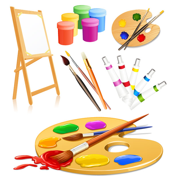 Art tool clipart picture transparent Free Paint Tools Cliparts, Download Free Clip Art, Free Clip Art on ... picture transparent