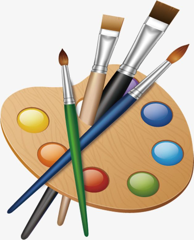Drawing tools clipart banner black and white library Painting Painting Tools, Tools Clipart, Painting, Cartoon PNG ... banner black and white library