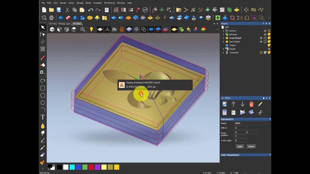 Artcam 2017 clipart modifying clip library stock Edicion de Post procesadores de ArtCAM parte 1 CAD CAM clip library stock