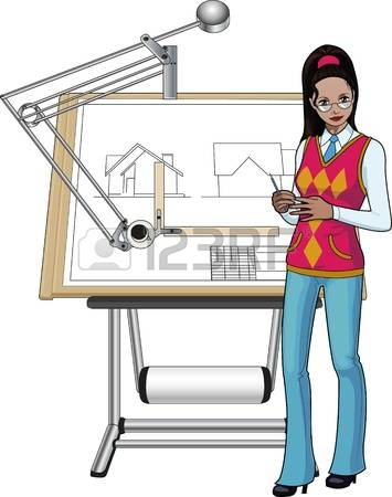 Female architect clipart vector transparent library Collection of 14 free Female clipart architecture crabs clipart ... vector transparent library