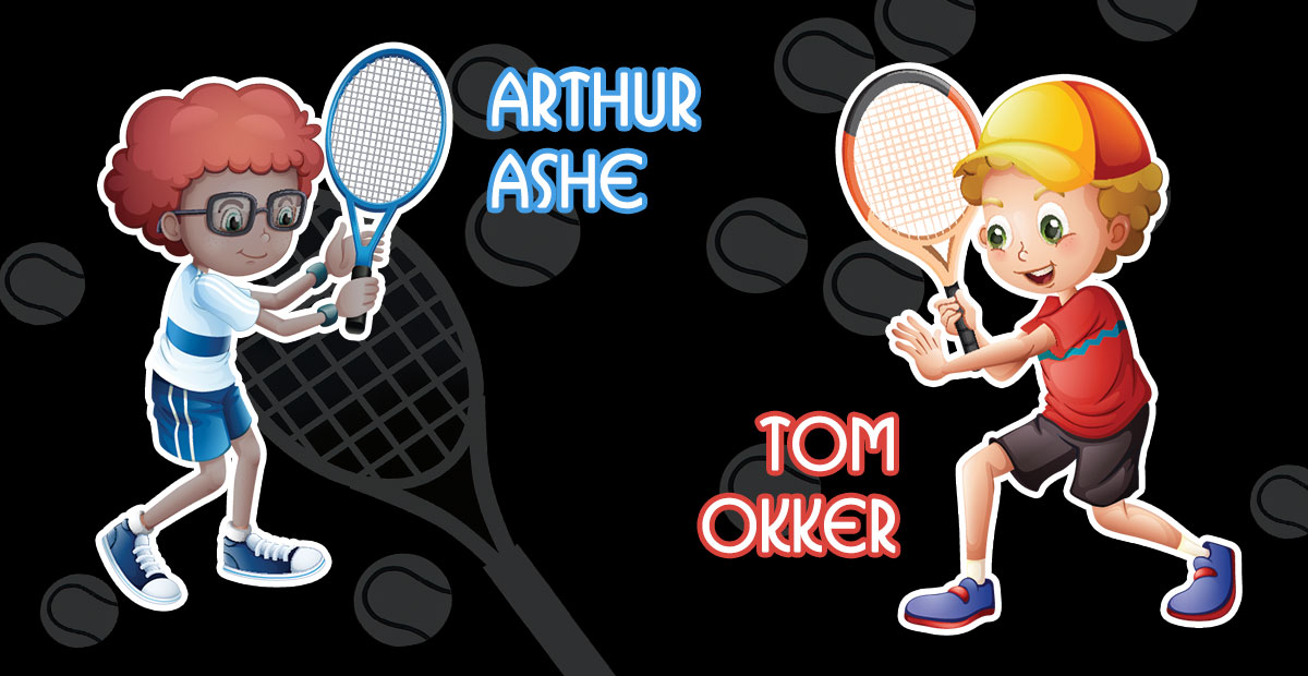 Arthur ashe clipart banner The Greatest Tennis Rivalries We All Went Gaga Over banner