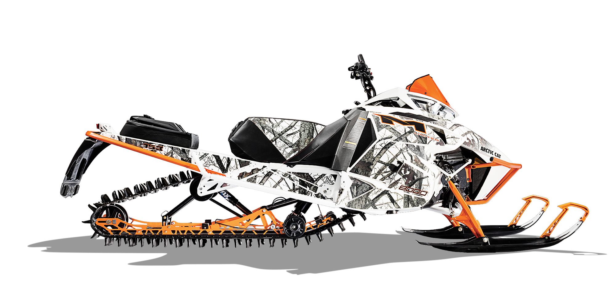 Artic cat snowmobile clipart black and white picture free stock M 8000 Limited (153) | Arctic Cat picture free stock