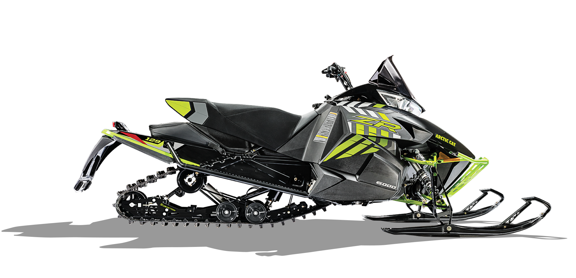 Artic cat snowmobile clipart black and white vector black and white ZR 6000 Limited ES (129) | Arctic Cat vector black and white