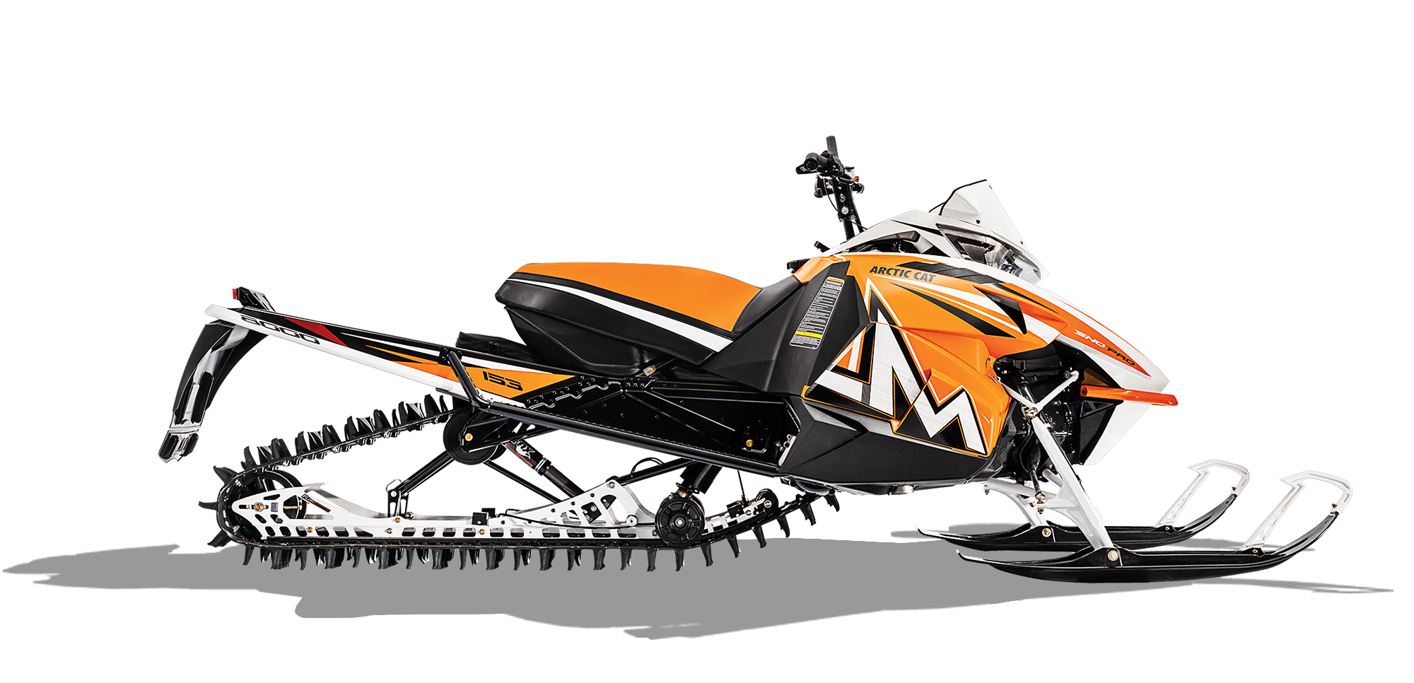 Artic cat snowmobile clipart black and white banner freeuse 2016 Arctic Cat M 8000 153