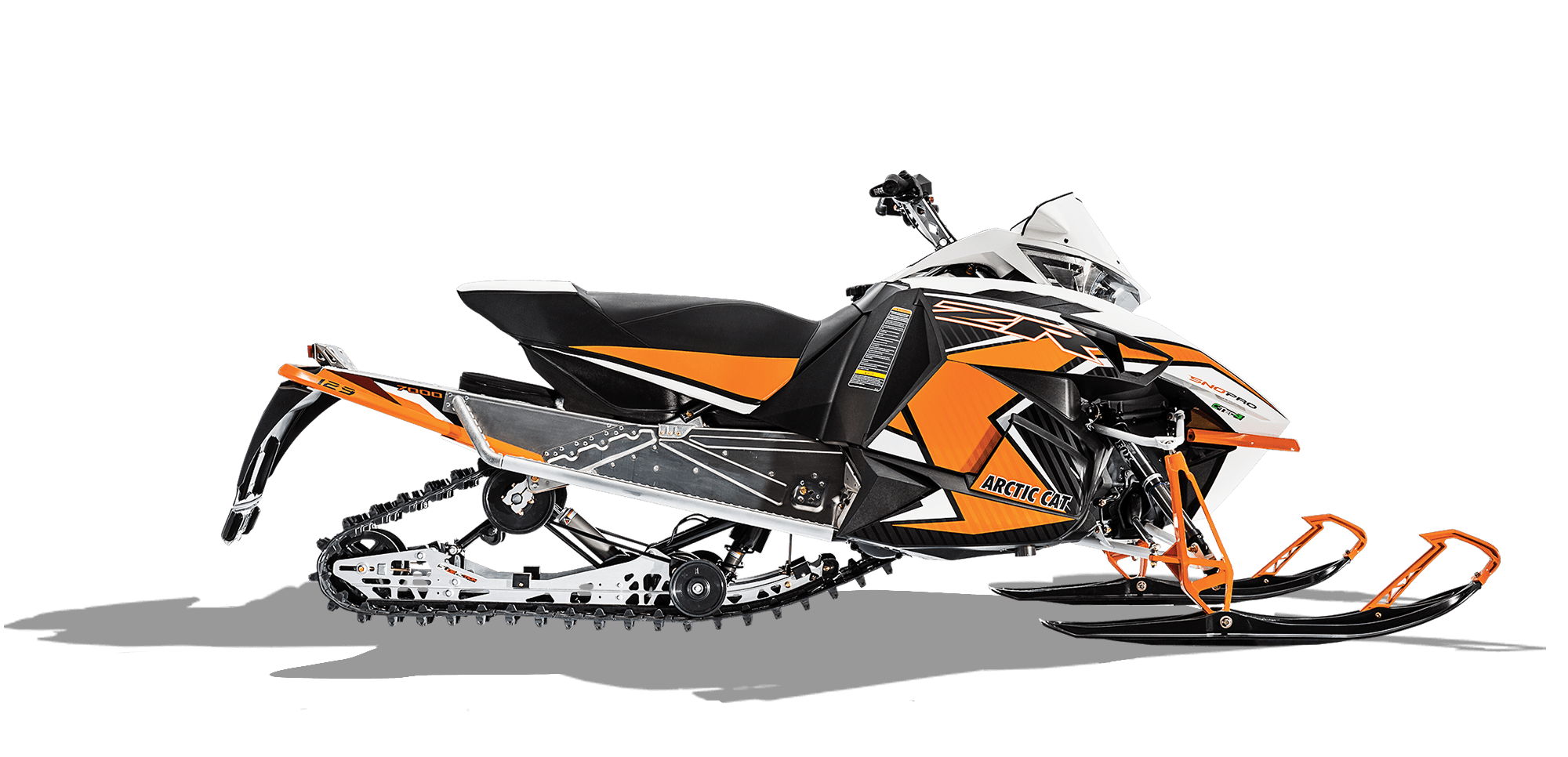 Artic cat snowmobile clipart black and white banner black and white New 2016 Arctic Cat ZR 7000 129