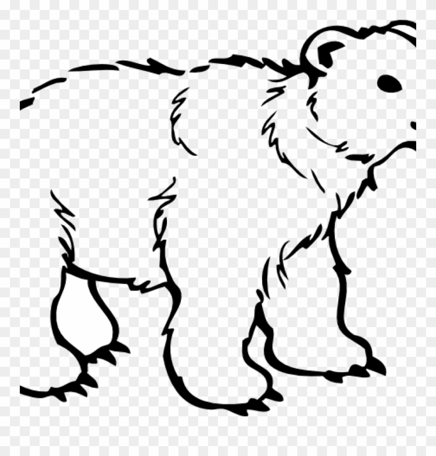 Black and white bear clipart banner freeuse stock Polar Bear Clipart Free 19 Polar Bear Graphic Free - Polar Bear ... banner freeuse stock