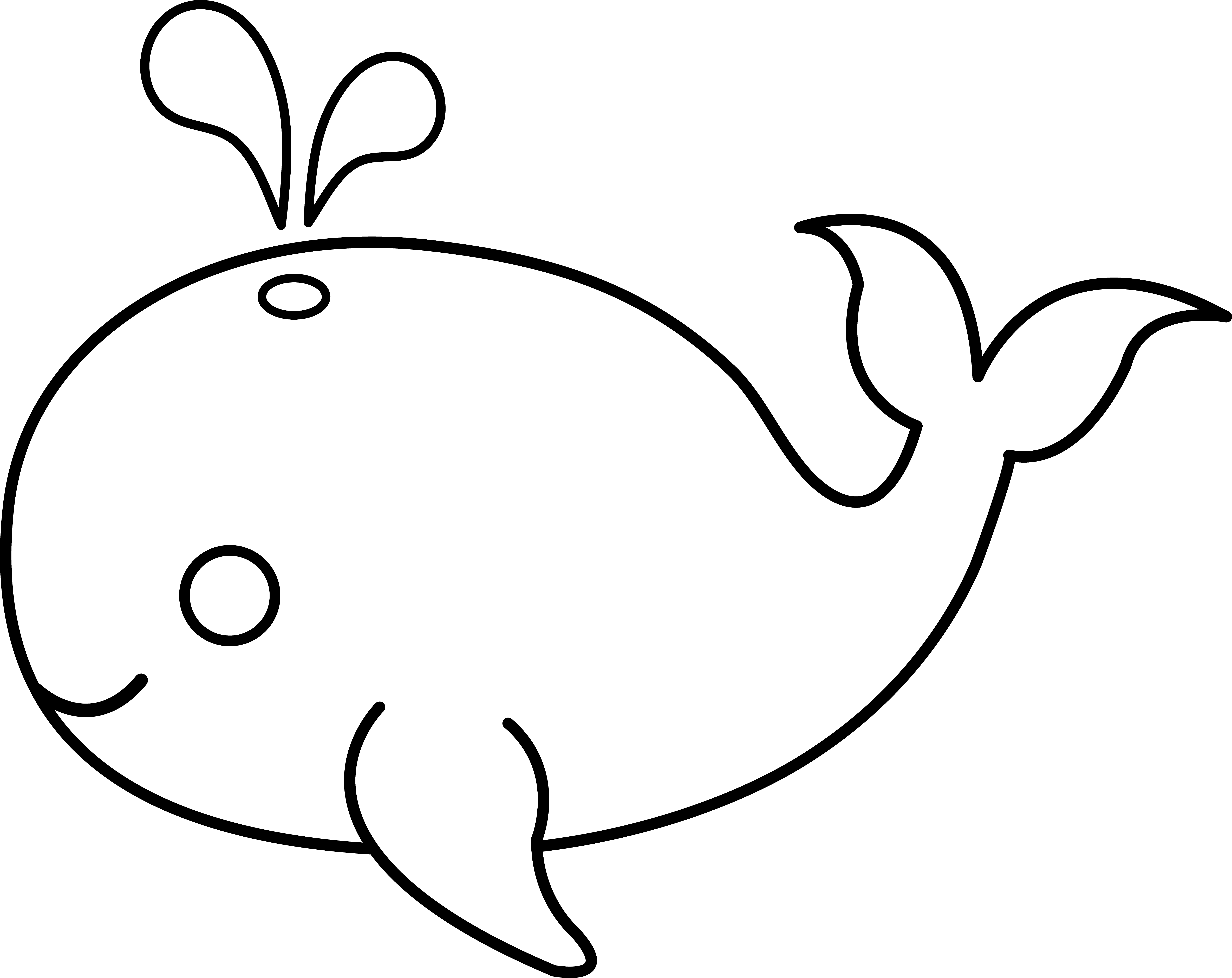 Baby fish in diaper clipart image free Whale Outline Drawing at GetDrawings.com | Free for personal use ... image free