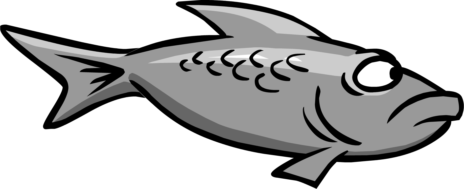 Fish fossils clipart svg stock Gray Fish | Club Penguin Wiki | FANDOM powered by Wikia svg stock